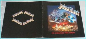 Judas Priest The Painkiller Tour 1990 - 1991 Tour program signed, autographed