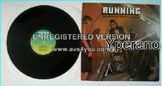Ziggy BYFIELD AND THE BLACKHEART BAND: Running LP
