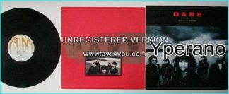 DARE: Out of the Silence LP with inner. Ex- Thin Lizzy keyboardist..