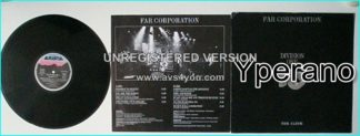 FAR CORPORATION: Division One LP Toto, MSG members. half original compositions, half famous cover songs! s + videos