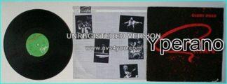 GILLAN: Glory Road LP. Embossed Gillan-logo on front cover 1980 (German). Deep Purple singer. Check videos.