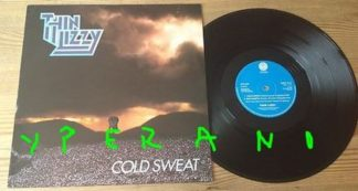 "THIN LIZZY: Cold Sweat 12"" Check video. 4 songs, 2 Live At Hammersmith 1981"