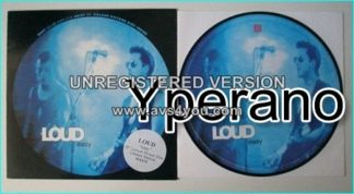 LOUD: Easy [10 Lyrical Picture Disc. Limited Edition] Check video. hard rock band with alternative, gothic + heavy metal.
