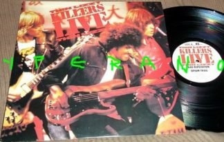 """THIN LIZZY: Killers Live 12"""" UK 4 Track"""