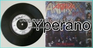 "ANTHRAX: I'm The Man [among the first rap metal songs] + Caught in a mosh (live) 7"" Check videos"