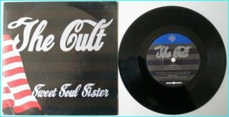 "The CULT: Sweet Soul Sister (single version) 7"" [Also contains the unreleased 7 minute song: œThe River""] Check video."