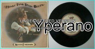 """Keith EMERSON: Honky Tonk Train Blues 7"""" ."""