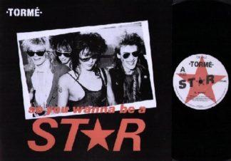 """BERNIE TORME: Star 12"""". L.A. GUNS / Girl singer. 4 songs. Check video"""