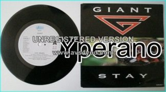 "GIANT: Stay (Remix) 7"" + Get used to it. First class Melodic Hard Rock. legendary singer. Check video!"