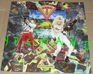"TRANSVISION VAMP: Revolution baby 12"" Original version. Mint, uplaid. This rules! Check video"