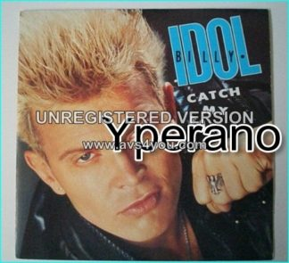 """Billy IDOL: Catch my fall 7"""" + All Summer Single (normal cover). Check video"""