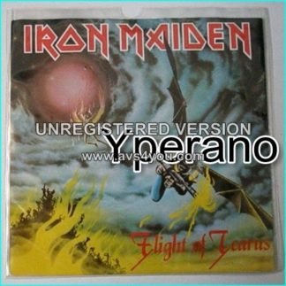 "IRON MAIDEN: Flight of Icarus 7"" + I've Got the Fire (Montrose cover)"