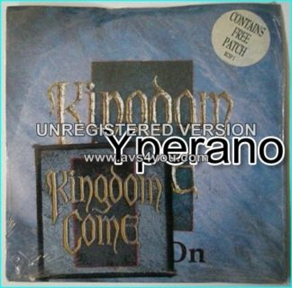 KINGDOM COME: Get It On + 17 Still factory sealed with a free patch. Check video!