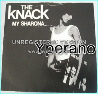 "The KNACK: My Sharona 7"" Very famous song. 7 inch vinyl. Check vinyl."