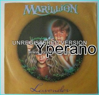 "MARILLION: Lavender 7"" + Freaks (Unreleased B side). Check video"