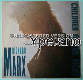 "Richard MARX: Children Of The Night 7"" + Right Here Waiting (Live in Australia)"