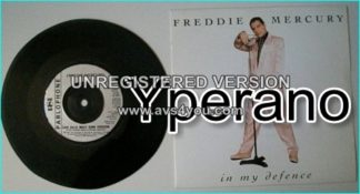 "Freddie MERCURY: In my defence 7"" + Love Kills (wolf Euro Version). Check video"