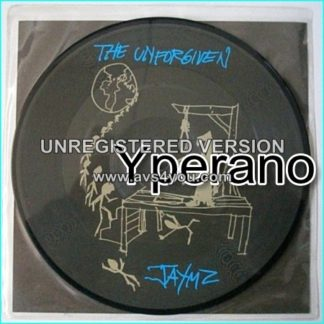 """METALLICA: The Unforgiven 7"""" picture disc. Only one that doesn't bare the Metallica logo anywhere!"""