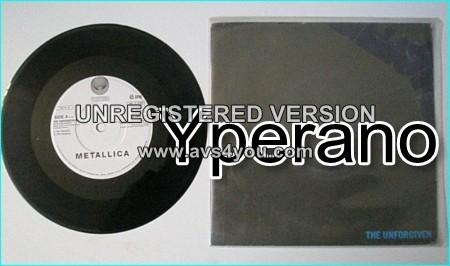 "METALLICA: The Unforgiven 7"" + Killing time (N.W.O.B.H.M cover). Check video"