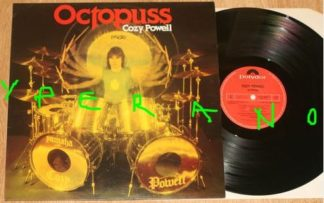 COZY POWELL: Octopuss LP. Super drumming and great music. Check samples
