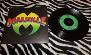 "MARSEILLE: Over And Over 7"" (3 songs). 1979 NWOBHM s."