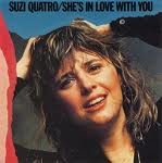 "SUZI QUATRO: She's in Love with you 7"" (With Picture Sleeve). 1975. Glam Rock queen a la Joan Jett. Check videos."