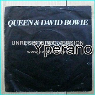 "QUEEN & David BOWIE: Under Pressure 7"" + Soul Brother. Check video"