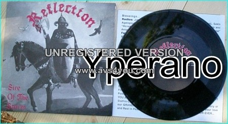 "REFLECTION: Sire Of The Storm 7"" (with inner) When Immortals Die + Fire. Classic Metal. True Metal lovers. s."