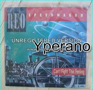 "REO SPEEDWAGON: Can't fight this feeling 7"" + Rock N' Roll Star [Classic!] Check video"