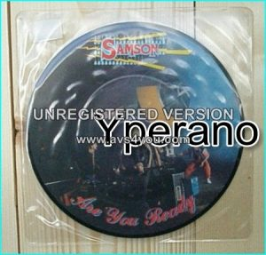 "SAMSON: Are You ready 7"" + Front page news [Picture Disc] ."