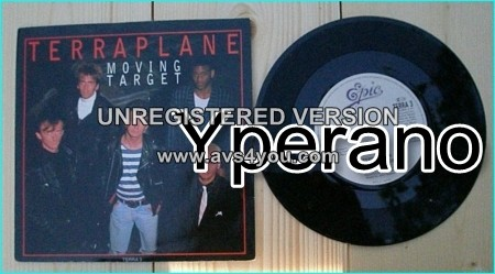 "TERRAPLANE: Moving Target 7"" + When I Sleep Alone (unreleased elsewhere) 3 Thunder members"