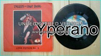 """TYGERS OF PAN TANG: Love potion No.9 + Stormlands MCA 1982 7"""". Check video!"""