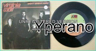 "VIRGINIA WOLF: Don't Break Away 7"" + Open Door [Promo copy]. Jason Bonham (son of John Bonham)"