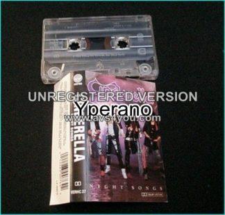 CINDERELLA: Night Songs 1986, US Hard Sleaze Rock CASSETTE