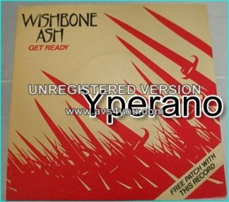 "WISHBONE ASH: Get Ready 7"" (great cover version) + Kicks On The Street. Excellent. Check video"