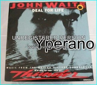 "John WAITE: Deal For Life 7"" Special version adapted from the soundtrack of Days Of Thunder. Check audio samples."