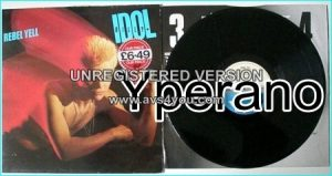 """BILLY IDOL: Rebel Yell LP & videos: """"Rebel Yell"""", """"Eyes Without a Face"""", """"Flesh for Fantasy"""", """"Catch My Fall"""""""