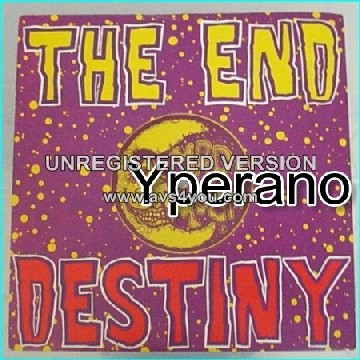 """The END: Destiny 7"""" rare hard rock single. British band + record label. HIGHLY RECOMMENDED."""