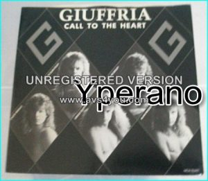 "GIUFFRIA: Call To The Heart 7"" Classic Hard Rock, fantastic melodies by Gregg Giuffria. Check video."