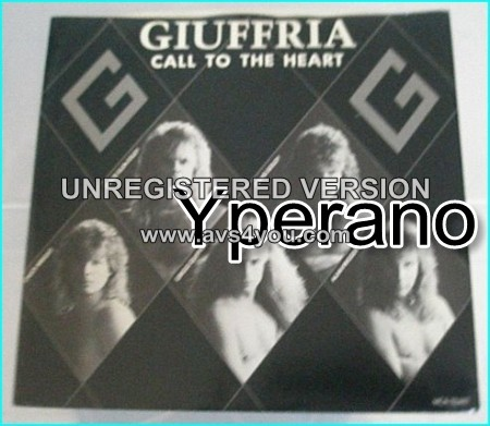 "GIUFFRIA: Call To The Heart 7"" Classic Hard Rock, fantastic melodies by Gregg Giuffria. Check video."