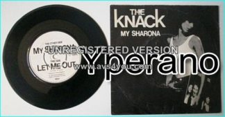 "The KNACK: My Sharona 7"" [ Very famous song] + Let me out- Check video"