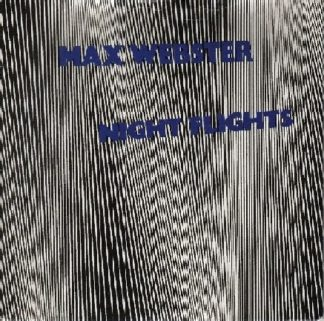 "MAX WEBSTER: Night Flight 7"" + Hangover [unreleased song]. PROMO. s"