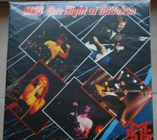 MSG (Michael Schenker Group): One Night at Budokan 2LP (Double gatefold LP, signed, Autographed]