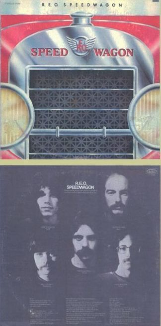 REO SPEEDWAGON: s.t LP self-titled first LP, 1971. Boogie Rock. s. HIGHLY RECOMMENDED
