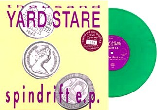 "Thousand Yard Stare: Spindrift e.p. 10""green color vinyl. Cool Alternative rock / Indie pop. Check video."