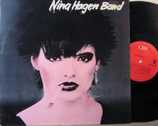 Nina HAGEN BAND: s.t LP. Masterpiece that integrates many different styles! CBS 32293.