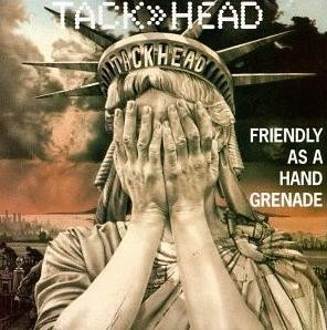 TALK-HEAD: Friendly as a Hand Grenade LP. Electronic Dub, Industrial.