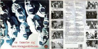 A TASTE OF ARMAGEDDON: Rare 1989 compilation LP. Best underground UK Thrash / Speed Metal.