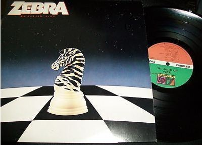 ZEBRA: No Tellin' Lies LP. Overlooked, remarkable with killer voice. s + vid.