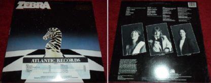 ZEBRA: No Tellin' Lies LP PROMO. Overlooked, remarkable with killer voice. s + vid.